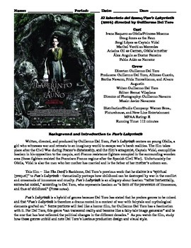 Pan's Labyrinth Film (2006) Study Guide Movie Packet
