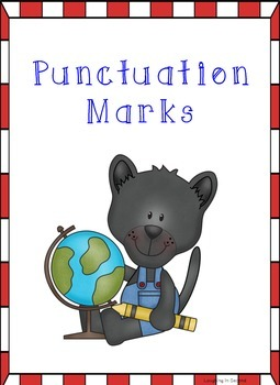 Panther Themed - Punctuation Posters