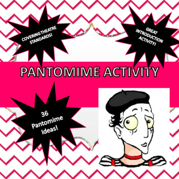 Pantomime Activity