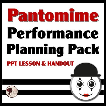 Pantomime Performance Planning Pack
