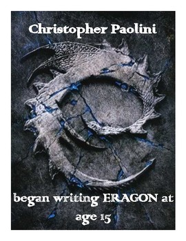 Paolini Young Author Poster