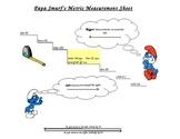 Papa Smurf Metric Conversion Chart