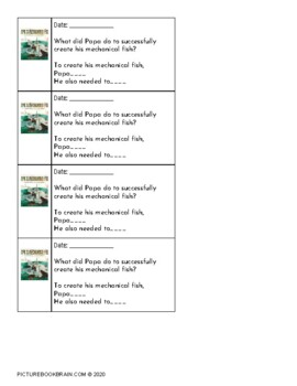 Papa's Mechanical Fish by Candace Fleming 4-5 Day Lesson Plan