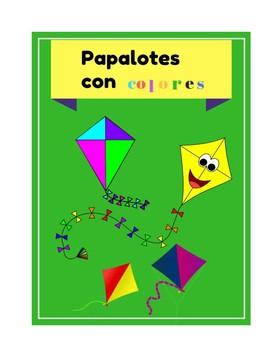 Papalotes con colores