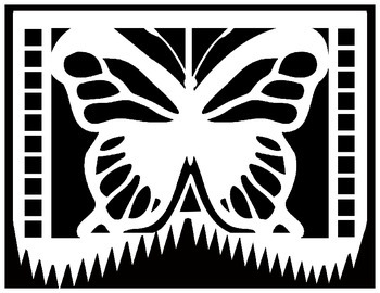 Papel Picado Coloring Sheets - for Cinco de Mayo and other ...