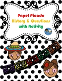 Papel Picado History and Questions with Activity TEK 2.16 A,B