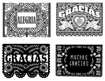 Papel Picado Postcards / Images
