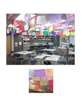 Papel Picado -- Spanish Class Art Project