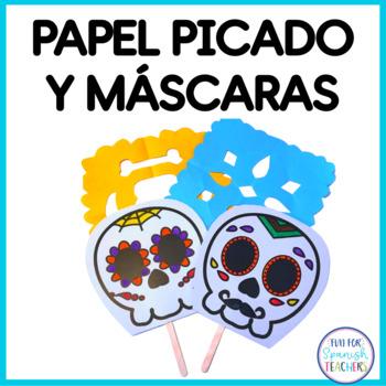Papel Picado and Masks Templates