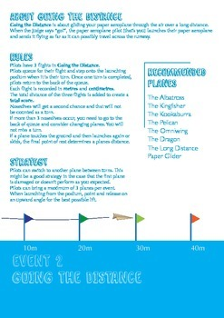 Paper Aeroplane Competition Guide