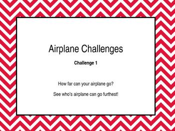 Paper Airplane Challenges- STEM activity