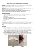 Paper Airplane Flight Activity