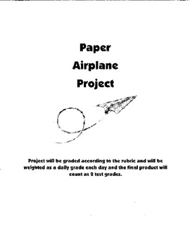 Paper Airplane Project