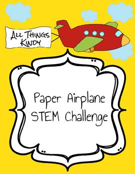 Paper Airplane STEM Challenge