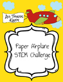 Paper Airplane STEM Challenge