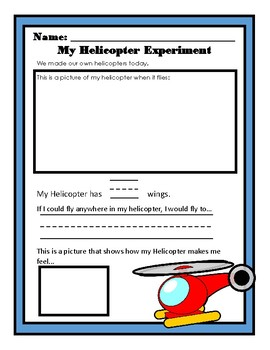 Paper Airplane Science Experiment Kindergarten Pre K By L Gann Tpt