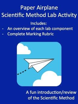 Paper Airplane Scientific Method Lab Activity