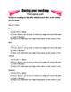 Paper Airplane v. Airplane Reading Worksheet