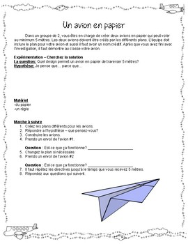 Paper Airplanes - French