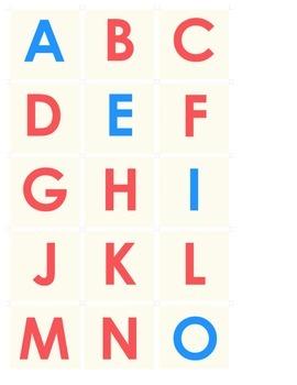 Paper Alphabet