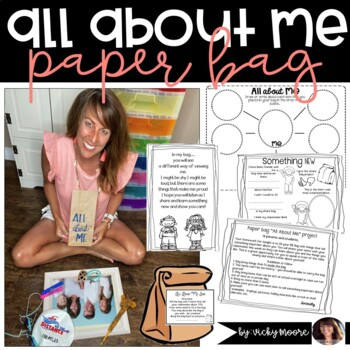 Paper Bag - All about Me bag project