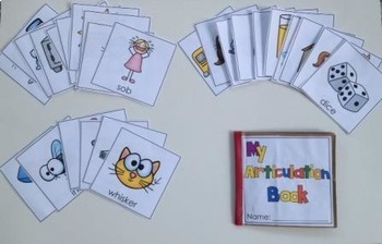 Articulation Paper Bag Books: K and G