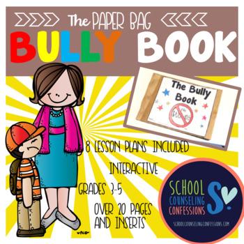 BULLY Book  - create a PAPER BAG BOOK!