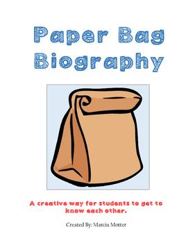 Paper Bag Biography