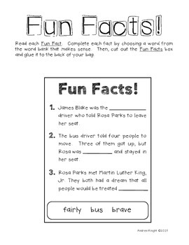 Rosa Parks Facts Biography