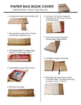 Paper Bag Book Cover