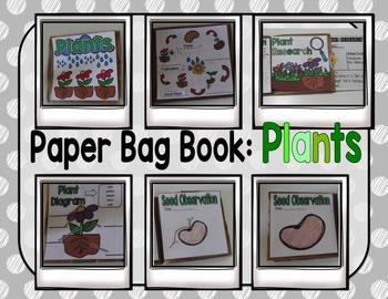 Paper Bag Book : Plants