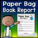 Paper Bag Book Report Template: Decorate a Paper Bag Based on a Fiction Book!