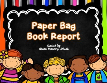 Paper Bag Book Report (Easy to Assemble!)