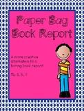 Paper Bag Book Report Project