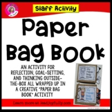 Paper Bag Book Staff Activity (Ready to go for Principals/Activity Leaders!)