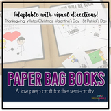 Paper Bag Books: An Adaptable Craft  #dec16slpmusthave