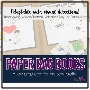 Paper Bag Books: An Adaptable Craft BUNDLE #nov2018slpmusthave