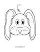 Paper Bag Bunny Puppet