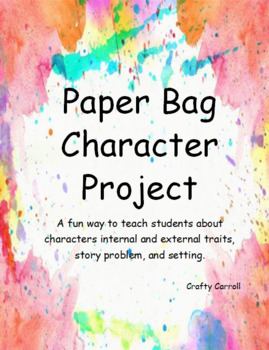 Paper Bag Character Project