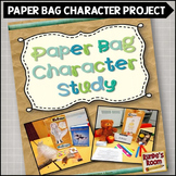 Paper Bag Character Study Book Report