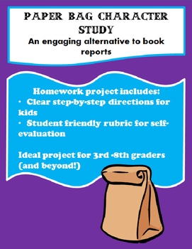 Paper Bag Character Study: Engaging Alternative to Book Report