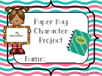 Paper Bag Character Study Project