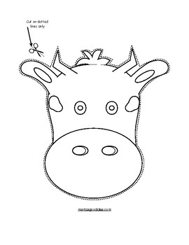 Paper Bag Cow Puppet