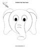 Paper Bag Elephant Puppet