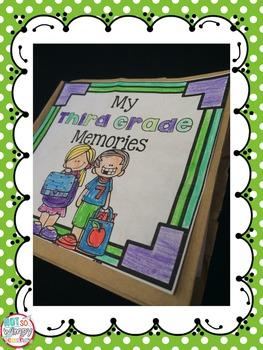 End of Year Memory Paper Bag Book