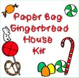 Paper Bag Gingerbread House Kit
