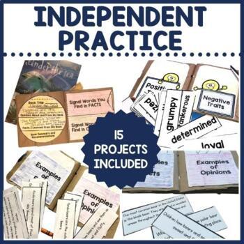 Paper Bag Book Bundle for Comprehension   Distance Learning PDF