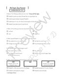 Paper Bag Princess COMPREHENSION TEST
