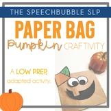 Paper Bag Pumpkin FREEBIE