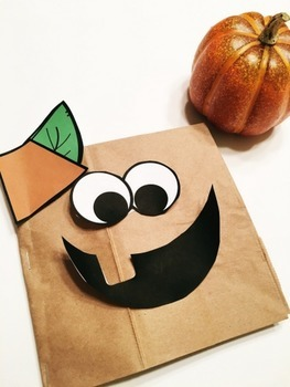 Paper Bag Pumpkin FREEBIE